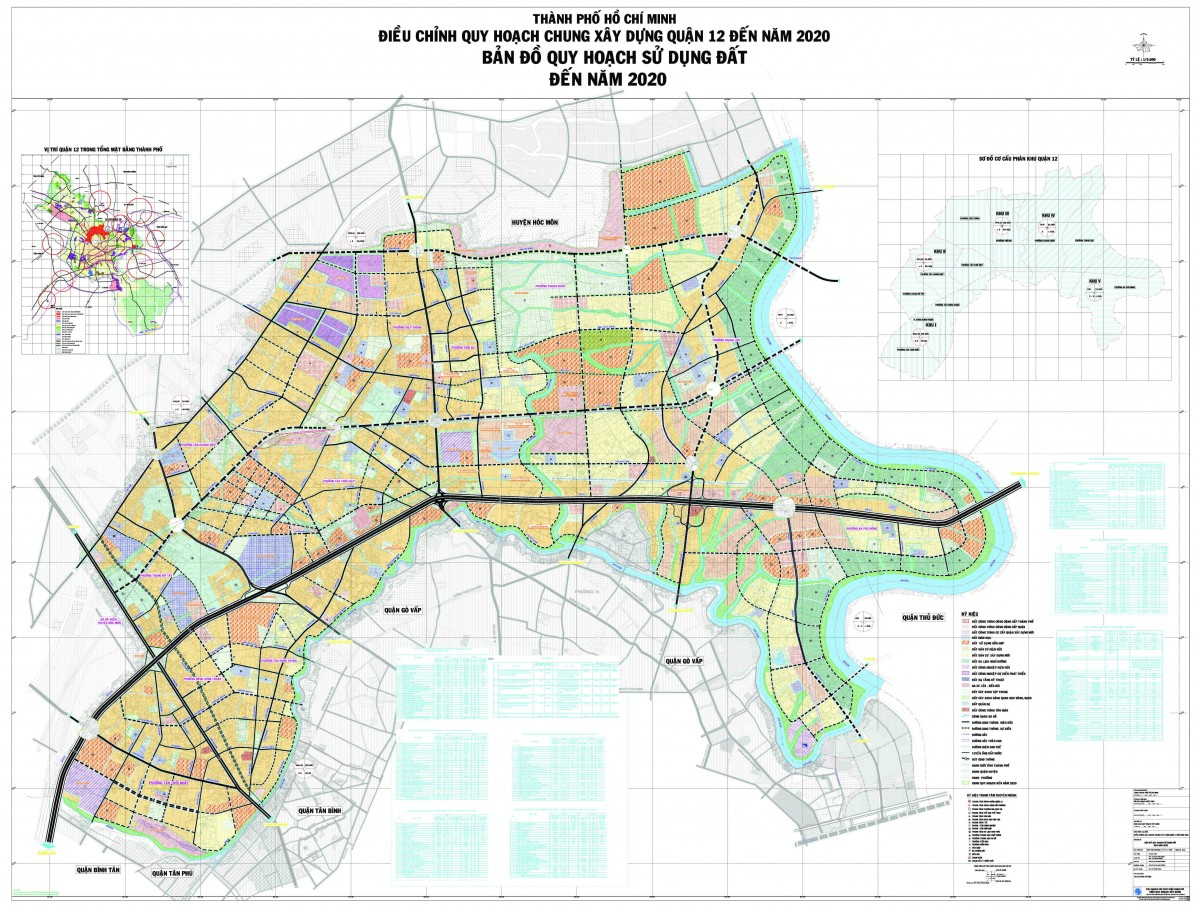 Bản đồ Quận 12 TPHCM