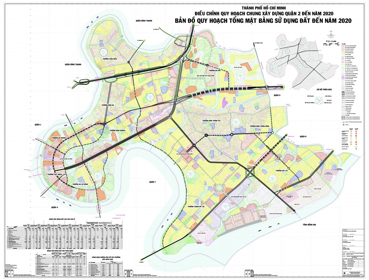 Bản đồ Quận 2 TPHCM