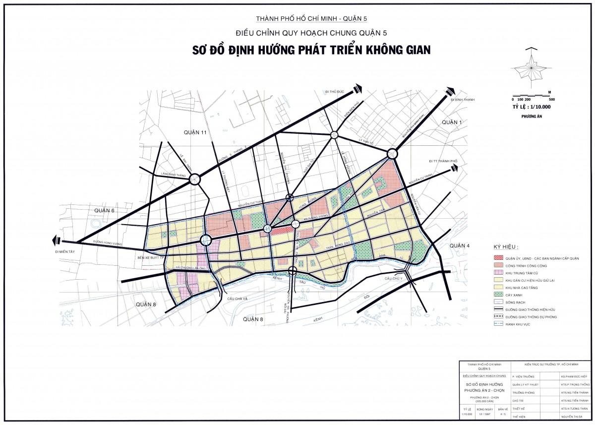 Bản đồ Quận 5 TPHCM
