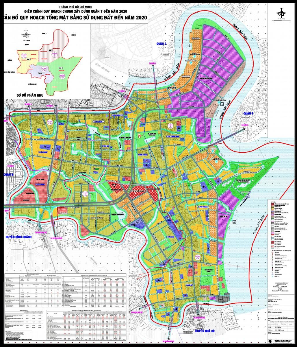 Bản đồ Quận 7 TPHCM