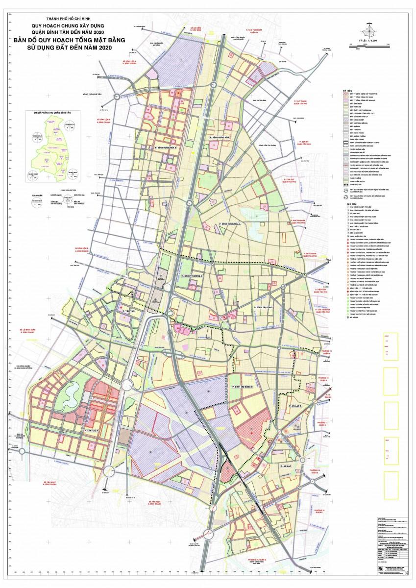 Bản đồ Quận Bình TânTPHCM
