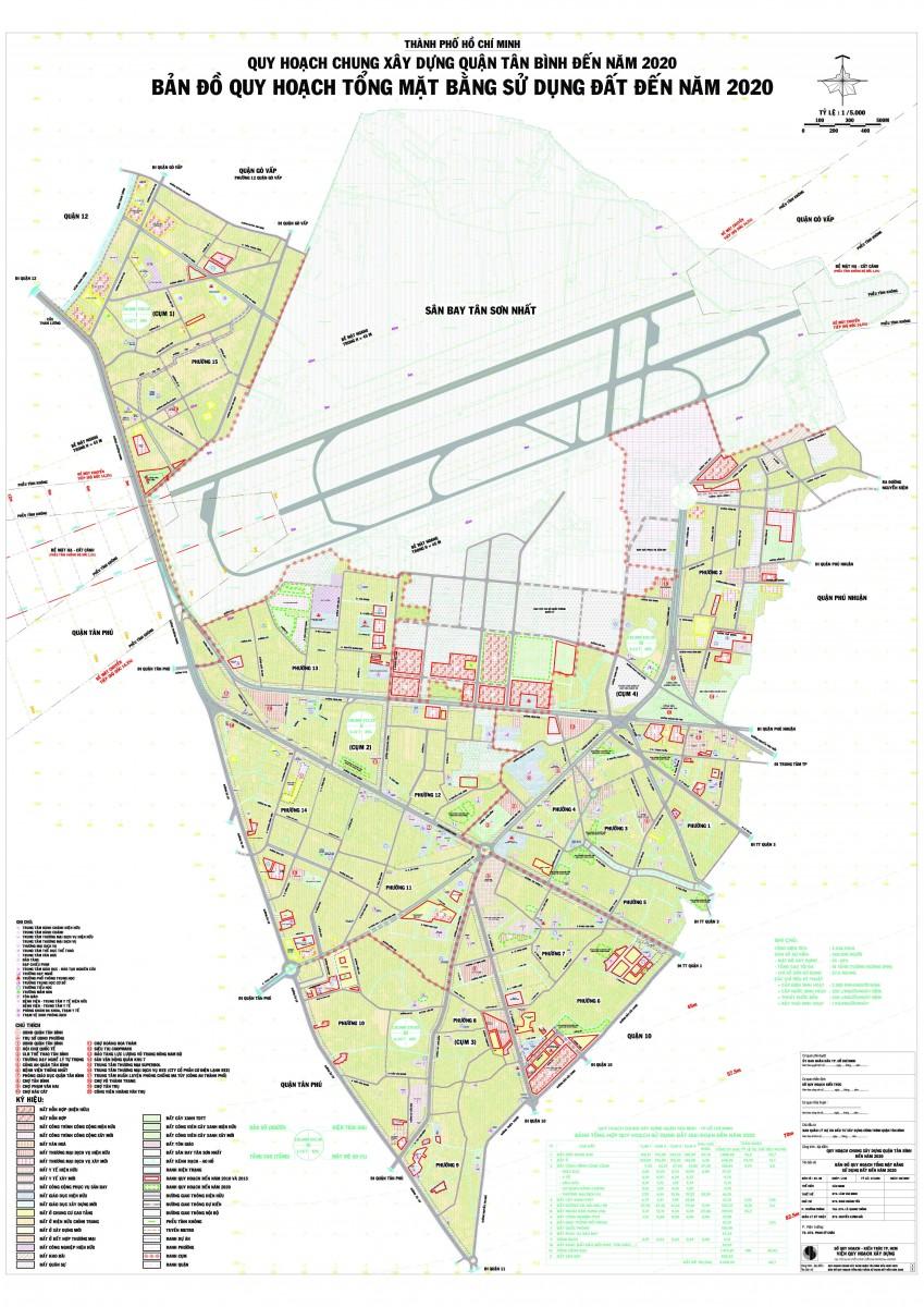 Bản đồ Quận Tân Bình TPHCM