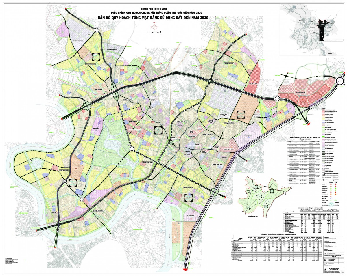 Bản đồ Quận Thủ ĐứcTPHCM