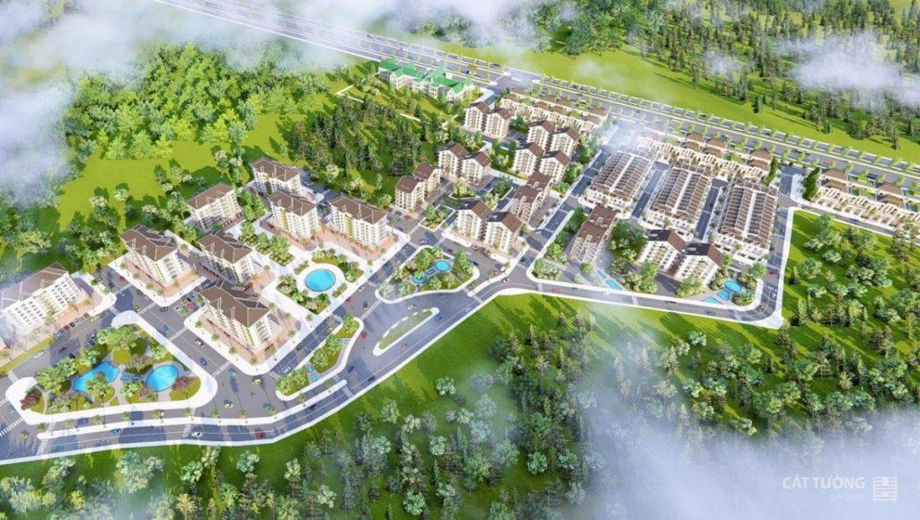 Tổng quan dự án khu đô thị phức hợp Cát Tường Phú Hưng