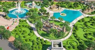 Khu đô thị Cát Tường Phú Hưng phủ một màu xanh thanh mát