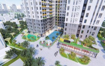 Hình ảnh phối cảnh dự án căn hộ Bcons Green View
