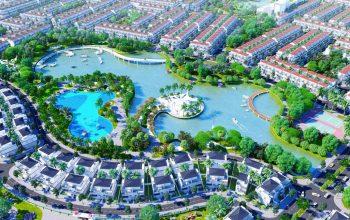 Tổng diện tích dự án được quy hoạch xây dựng lên đến 100ha