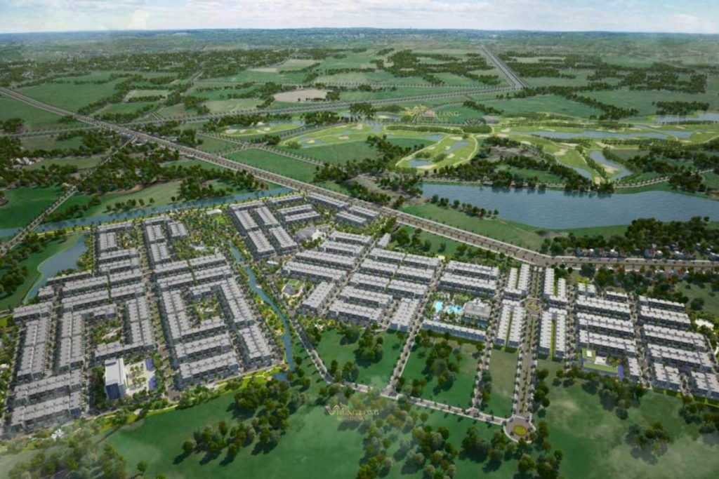 Dự án West Lakes Golf & Villas Long An
