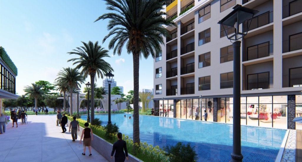Tiện ích hồ bơi dự án Bcons Green View