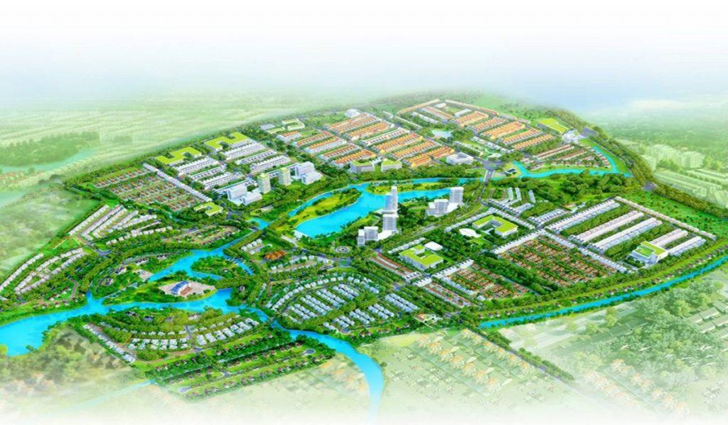 Mô hình dự án Lotus Riverside Long An