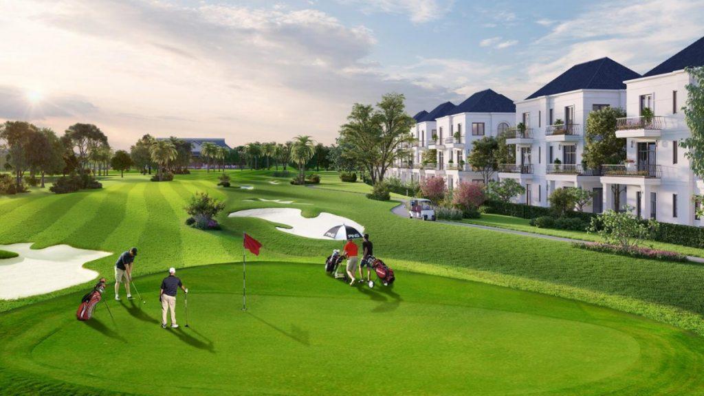 Phối cảnh dự án West Lakes Golf & Villas