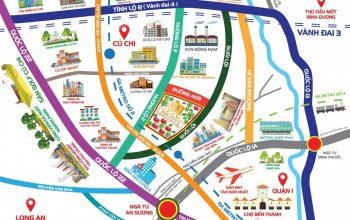 Dự án khu đô thị Sun City 2 có vị trí địa lý thuận lợi