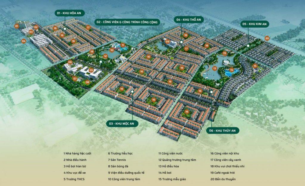 Tiện ích dự án khu đô thị Phúc An City