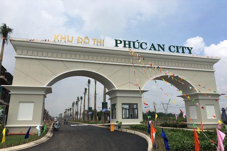 Dự án khu đô thị Phúc An City