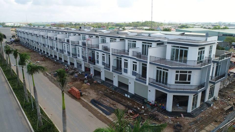 Nhà phố liền kề dự án Phúc An City