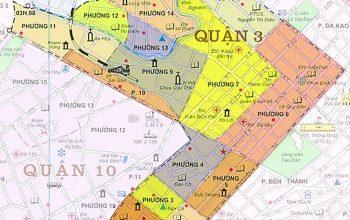 Bản đồ hành chính quận 3 mới nhất năm 2020