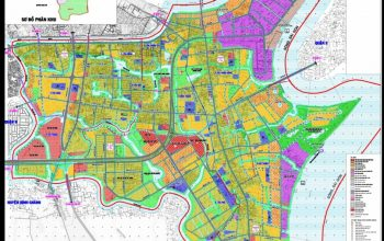 Bản đồ hành chính quận 7