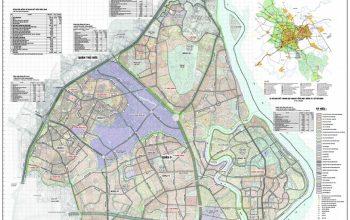 bản đồ hành chính quận 9