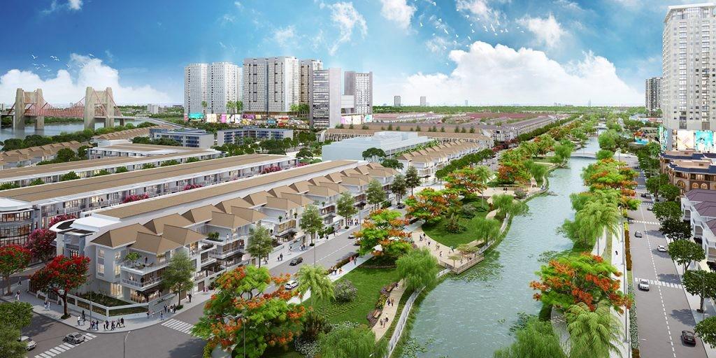 Kênh sông Trăng Vạn Phúc City