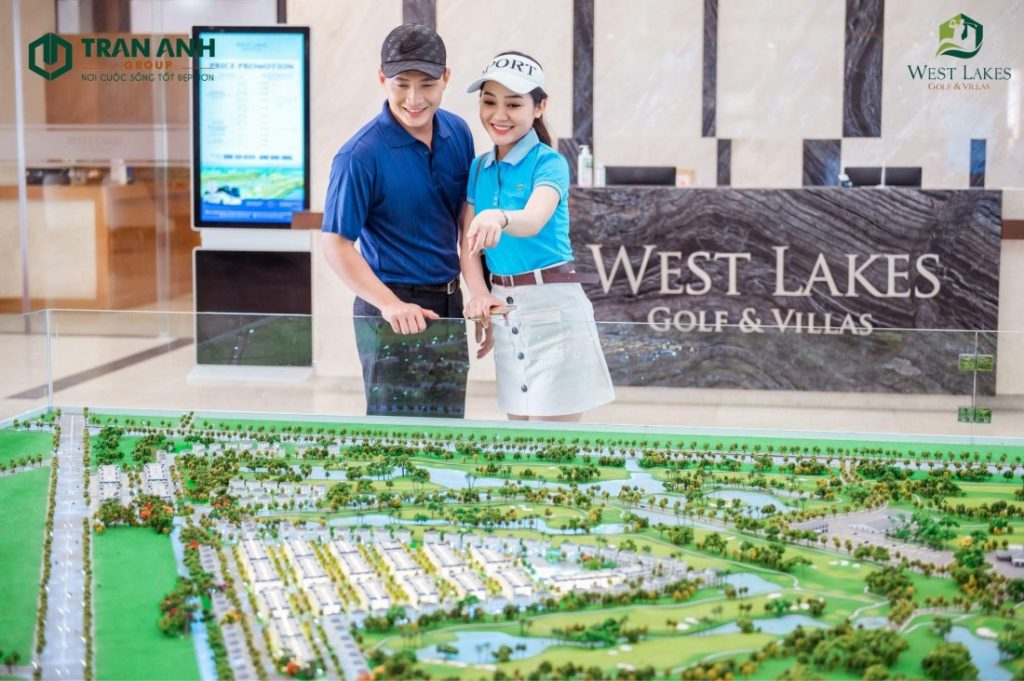 Tổng quan về dự án West Lakes Golf & Villas