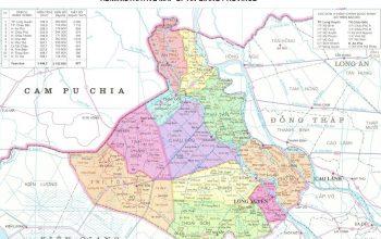 Bản đồ quy hoạch hành chính An Giang