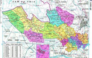 Bản đồ quy hoạch Long An đến 2030