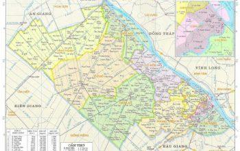 Bản đồ quy hoạch hành chính Cần Thơ