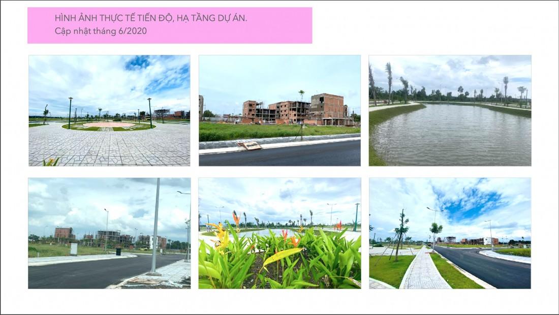 Hình ảnh thực tế dự án Tiến Lộc Garden