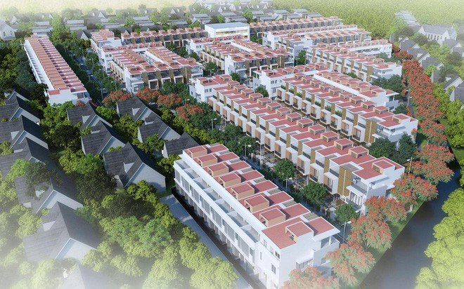 Phối cảnh dự án Thuận Đạo Residence