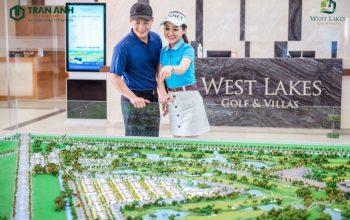 Tiện ích ngoại khu bất động sản West Lakes Golf & Villas