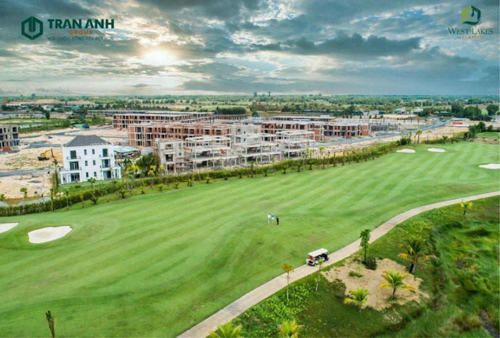 Vị Trí West Lakes Golf Villas