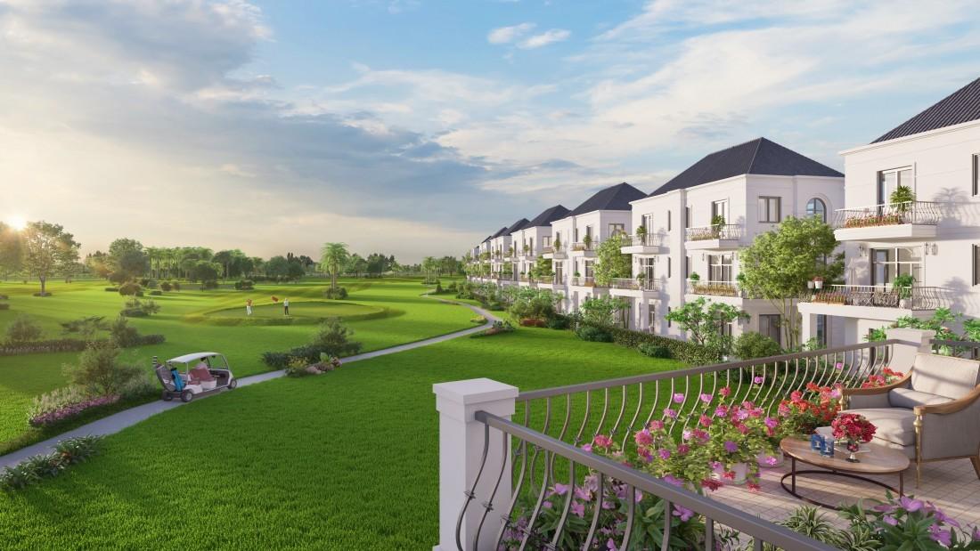 West Lakes Golf & Villa view sân Golf