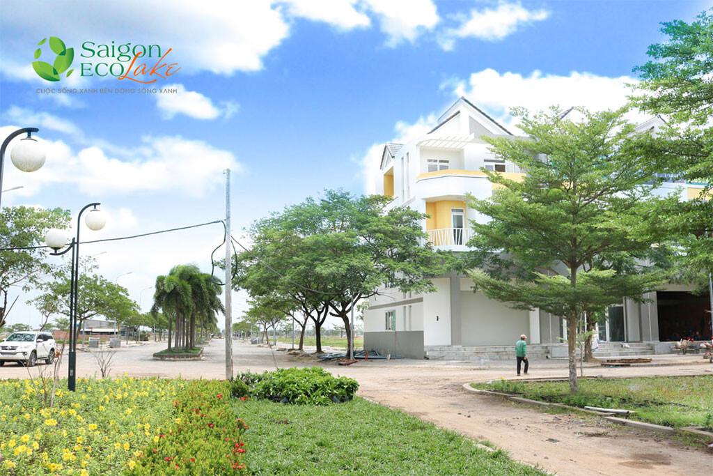 Hình thực tế Dự án Sài Gòn Eco Lake
