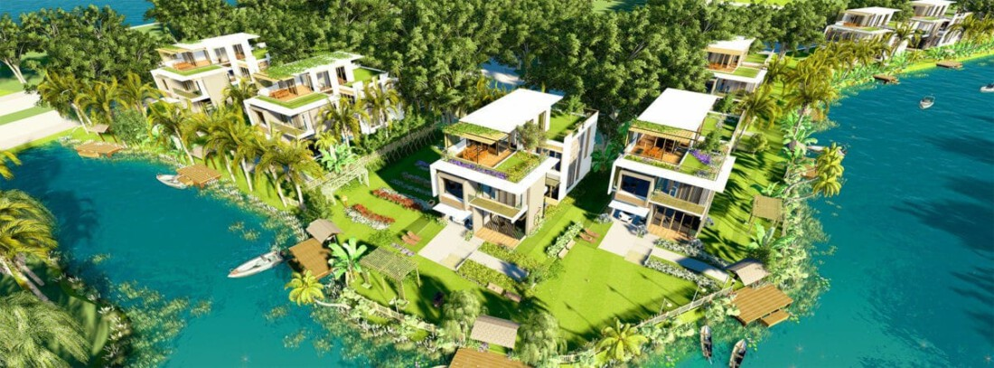 Biệt thự song lập Five Star Eco City