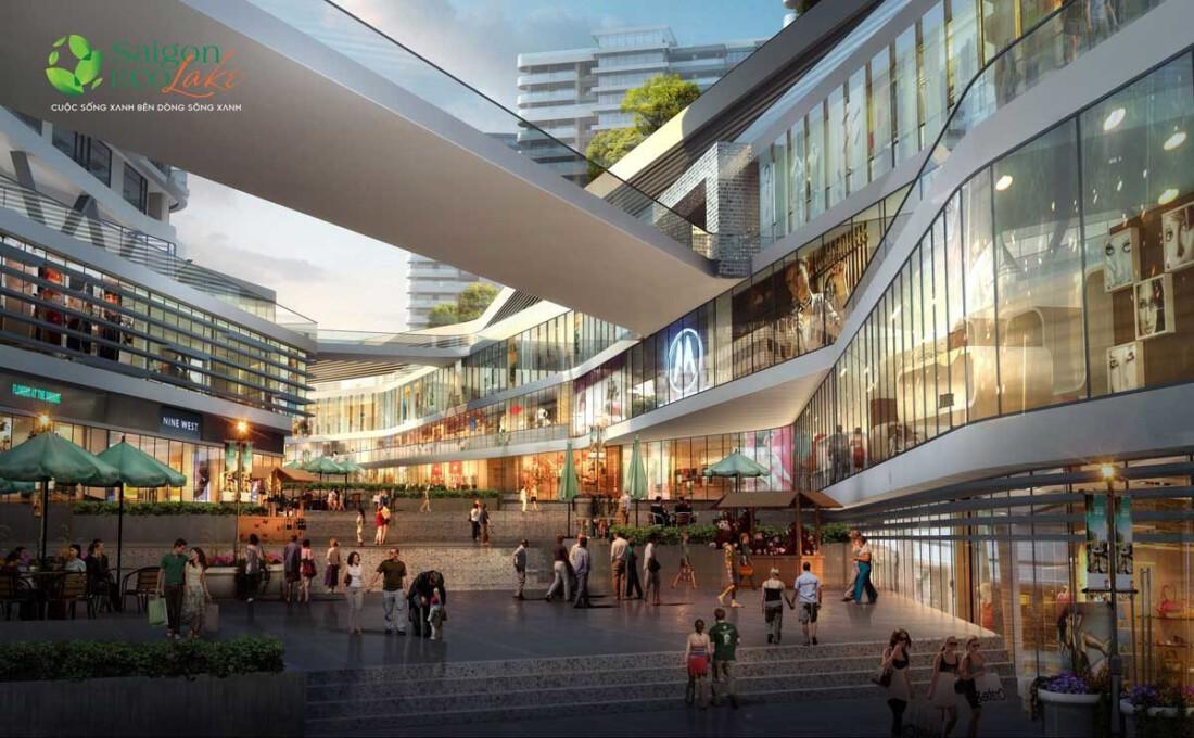 Trung tâm thương mại tại Dự án Sài Gòn Eco Lake