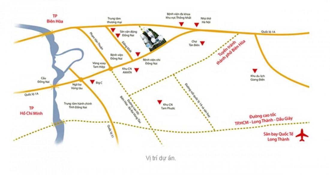 Vị trí đắc địa của dự án căn hộ V-Citilight