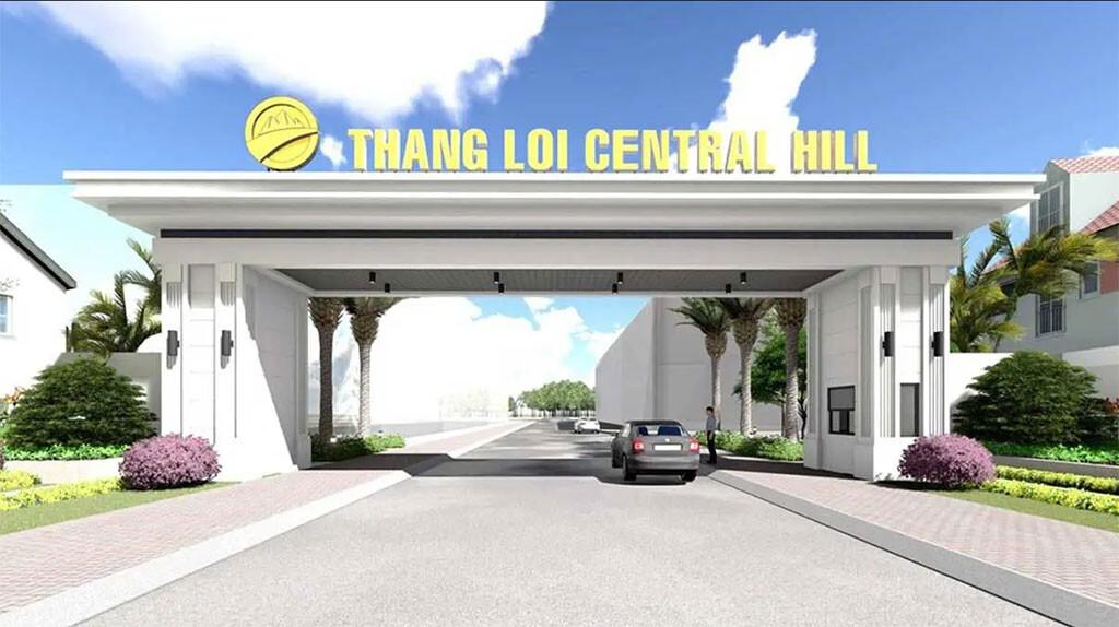 Cổng chào thắng lợi Central Hill