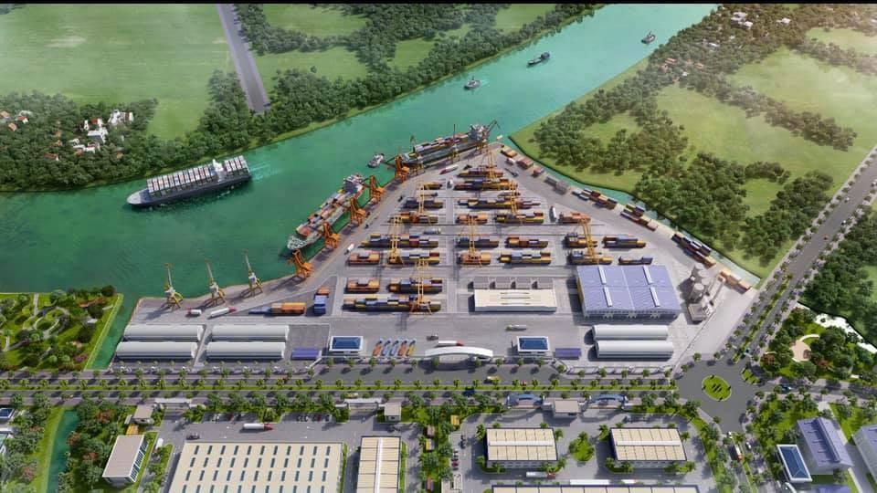Tính pháp lý dự án Tiến độ khu công nghiệp Trần Anh Tân Phú