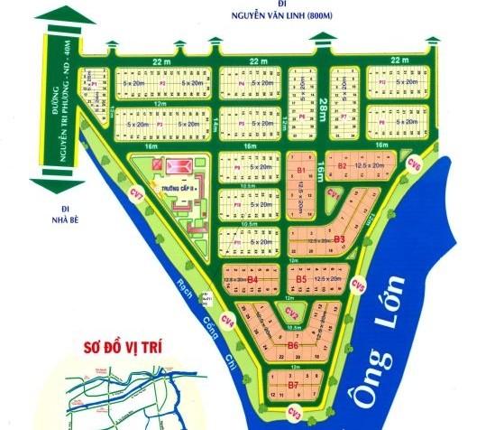 Vị trí khu dân cư 6B Intresco