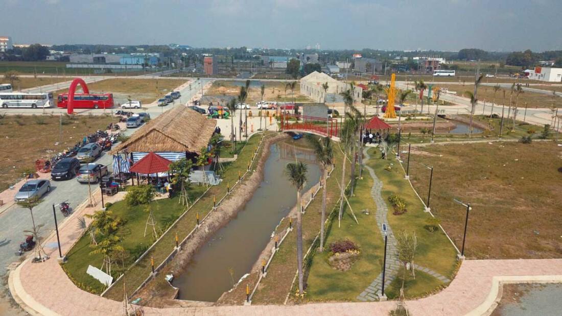 Tiến độ thi công Dự án Long Cang RiverPark 2021