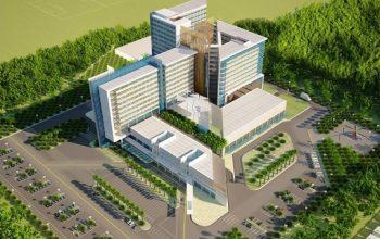 Phối cảnh công trình Bệnh viện Đa khoa khu vực Củ Chi