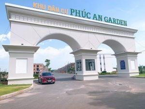 Vị trí của dự án Phúc An garden