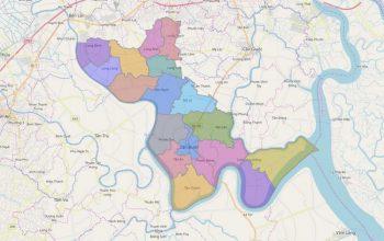 Bản đồ quy hoạch Cần Đước