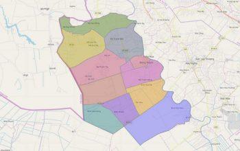 Bản đồ quy hoạch Đức Huệ