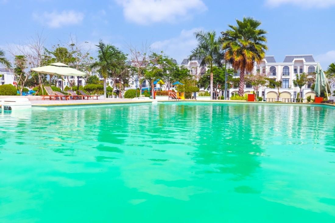 hồ bơi dự án Lavilla Green City