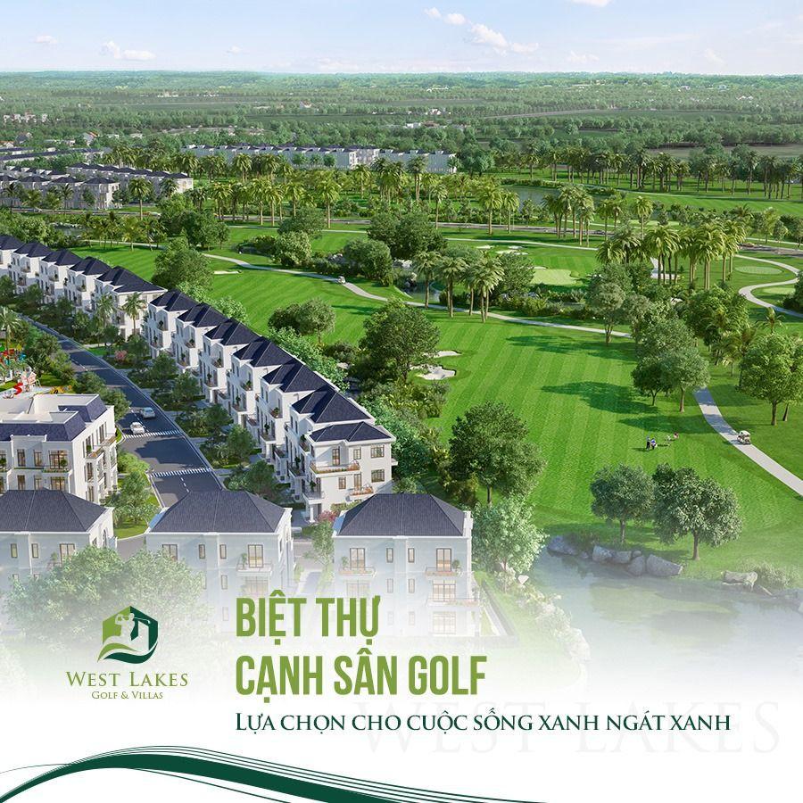 Biệt thự sân Golf West Lakes thiết kế hiện đại