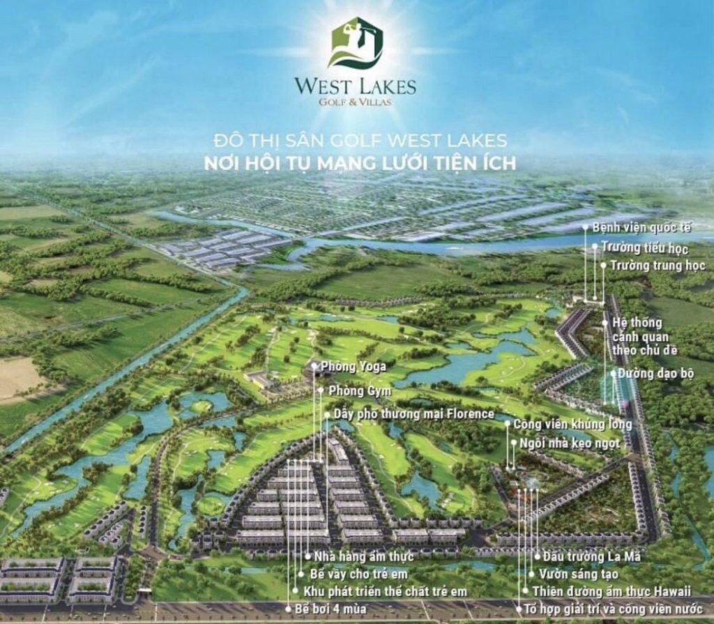 Các tiện ích của dự án West Lakes