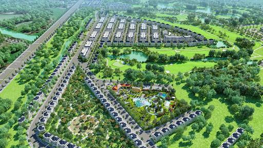 Mở bán dự án biệt thự sân golf Tân Mỹ