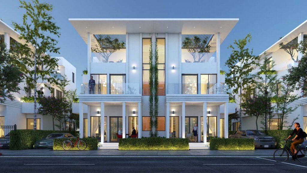 Thiết kế không gian kiến trúc nổi bật tại Swing Town