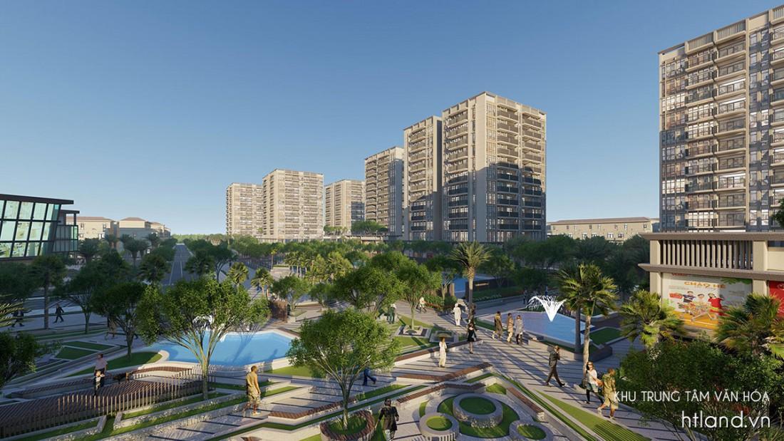 Khu chung cư The New City Châu Đốc